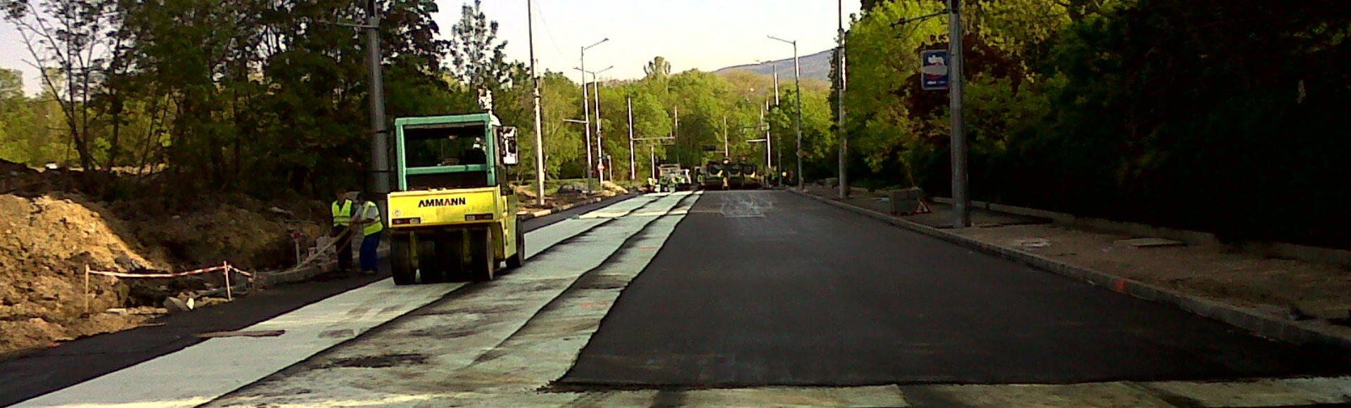 Продукти за армиране на асфалтови настилки