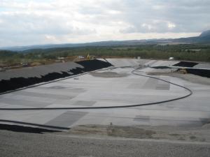 Изграждане на клетка 2.1 към Регионално депо за твърди битови отпадъци от Общините Враца и Мездра