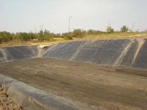 Рекултивация и закриване на южна част на Депо за неопасни отпадъци на Топлофикация Русe