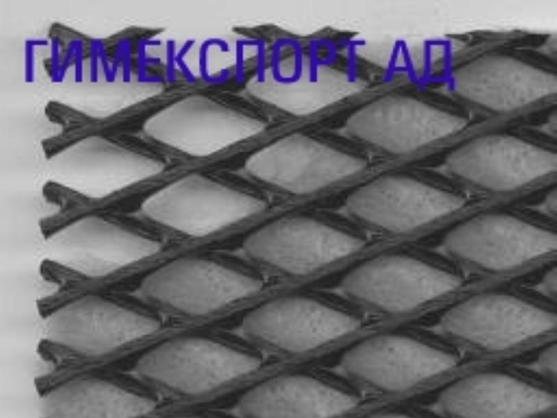 Мрежа от ПЕВП и дренажен геокомпозит с 1 и 2 слоя геотекстил