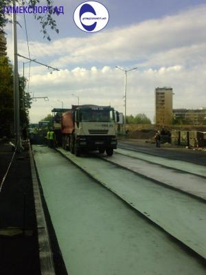 Мрежи за армиране на асфалтови настилки