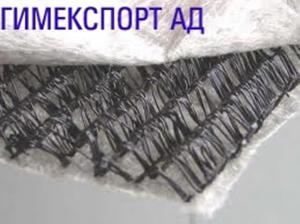 Дренажен геокомпозит от ПП с 1 и 2 слоя геотекстил